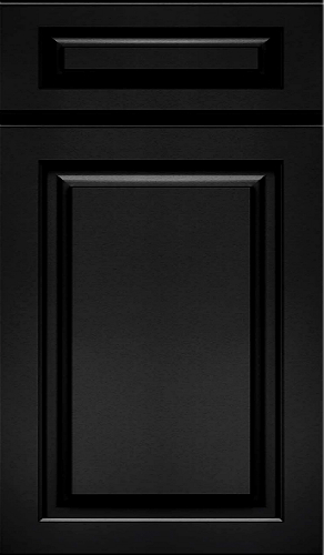 Black Raised Panel